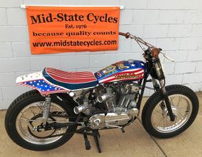 Evel Knievel 1972 H-D XR750 For Sale